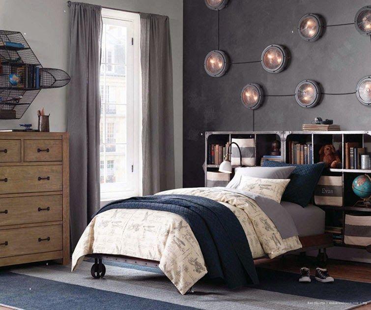 Recopilando las mejores ideas para dormitorios juveniles for Decoracion de paredes de cuartos para jovenes hombres