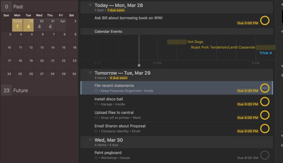 OmniFocus task management for Mac, iPad, and iPhone