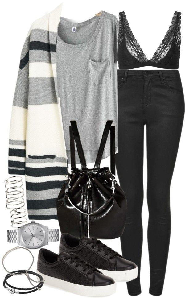 Style Selection Fashion Blog | Outfits and Advice • Untitled #871 by el-wore-what featuring metal...