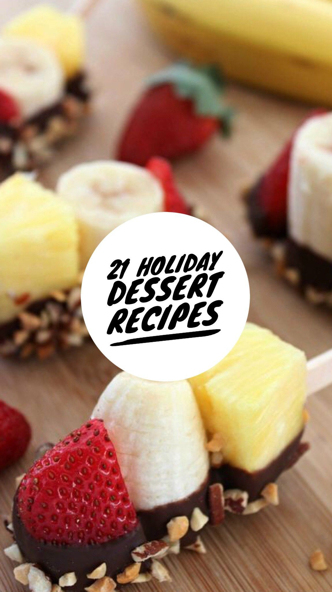 Healthy Dessert Options For The Holidays advise