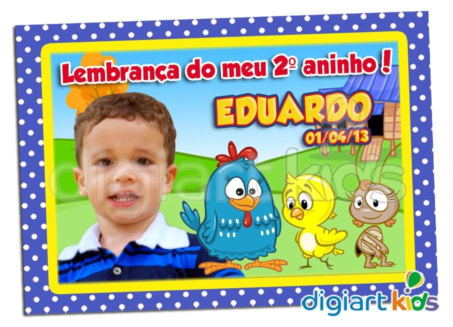 Ima De Geladeira Galinha Pintadinha Com Imagens Imas De