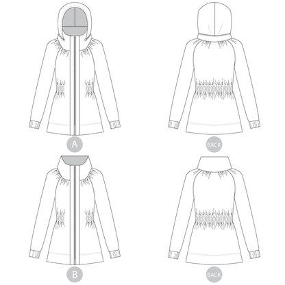 Minoru Jacket | Sewing patterns, Hoods and Patterns