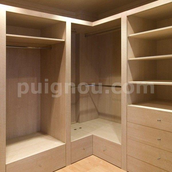 Dise o de armarios cajoneras puertas y estanterias para hacer de su dormitorio un lugar ideal - Accesorios para armarios roperos ...
