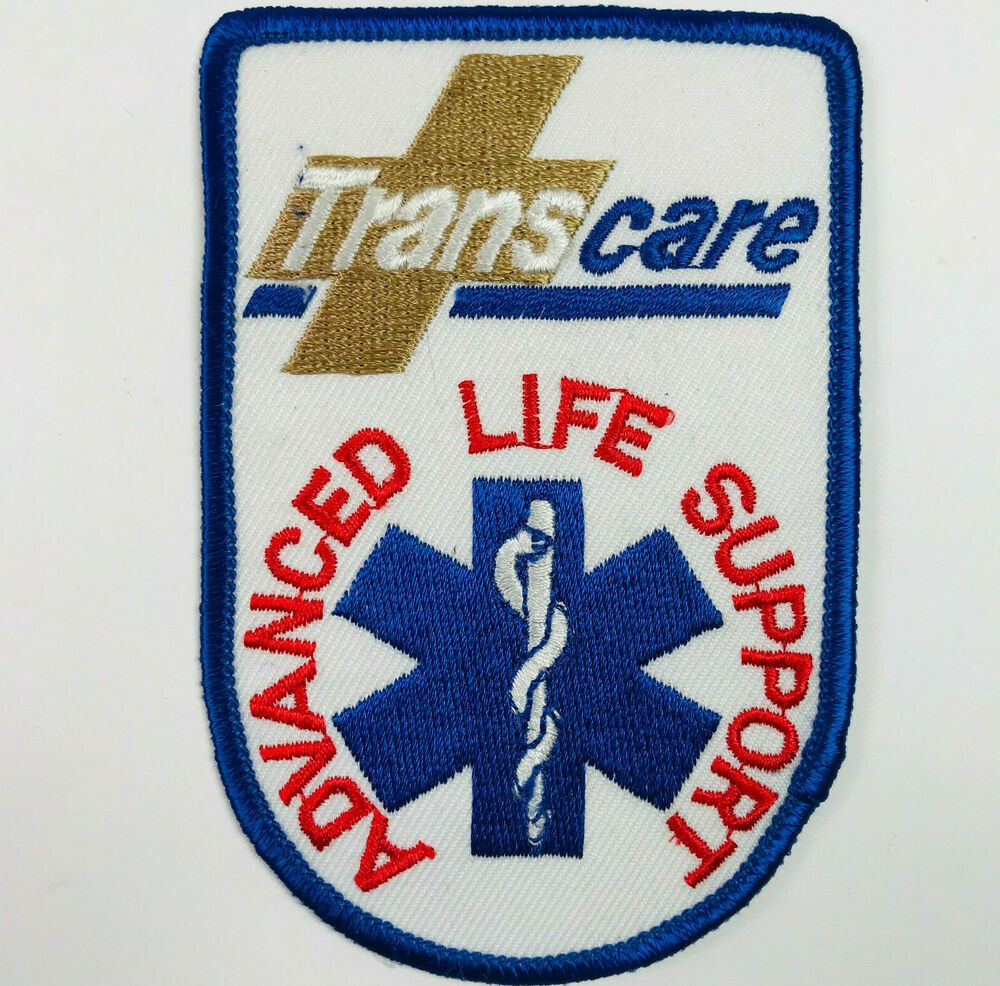 Transcare Advance Life Support Ambulance Patch in 2020
