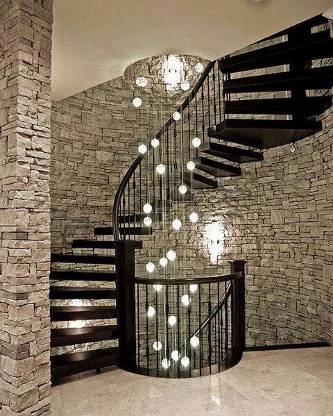 Decoracion y lámpara lámparas Pinterest Decoración y Deberes - lamparas para escaleras
