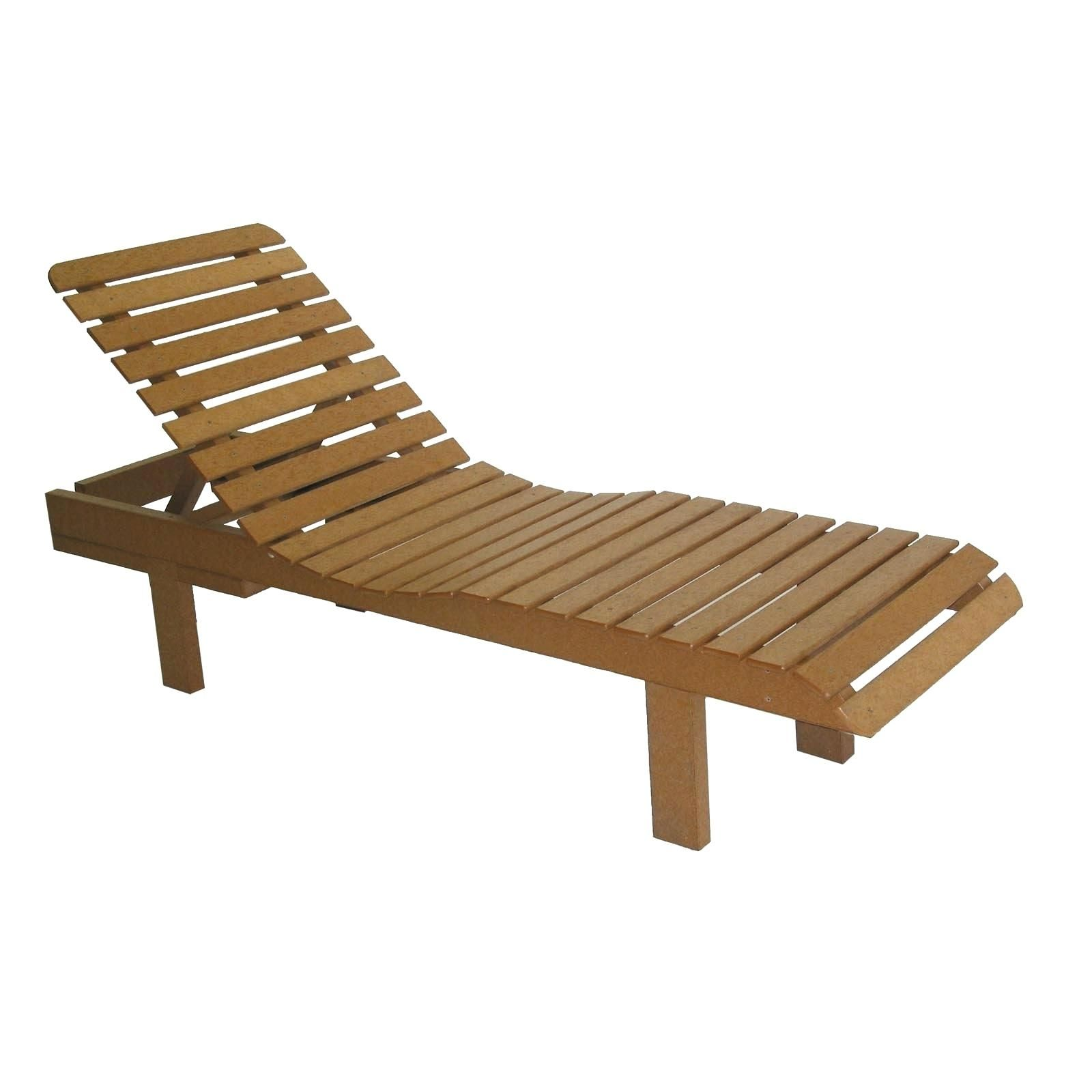 Genial Teak Wood Chaise Lounge Chairs