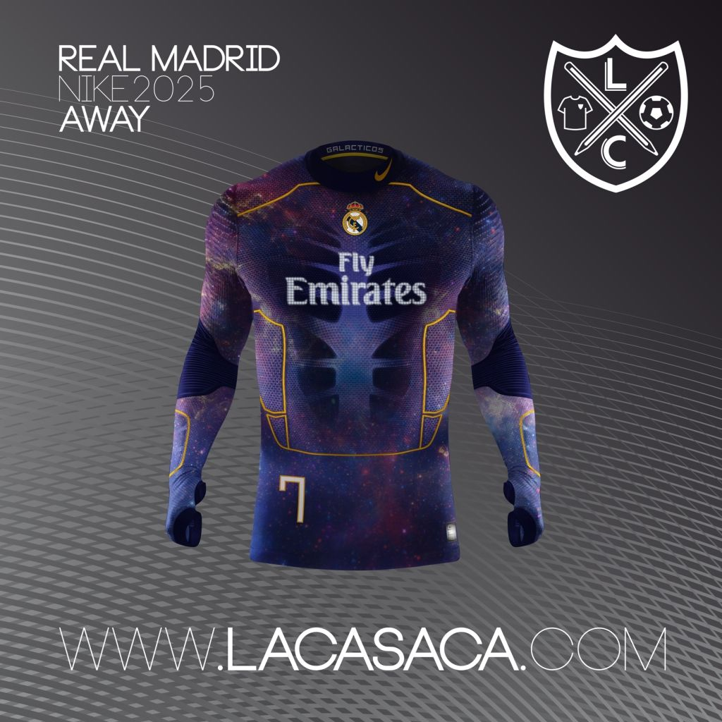 Nike 2025 Fantasy Kits - Real Madrid Away  ba72913edf44f