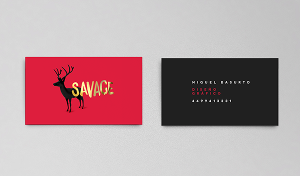 BUSINESS CARDS COLLECTION by Miguel Basurto, via Behance