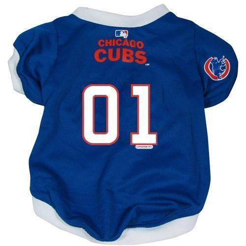sale retailer dafdc 2f294 Chicago Cubs MLB Mesh Pet Jersey (Large)   Bears/ Cubs ...