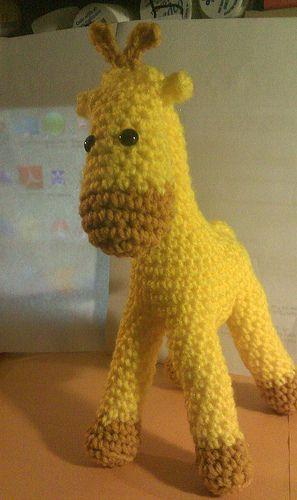 Ravelry: Bubbles the Baby Giraffe pattern by Melissa's Crochet ... | 500x297