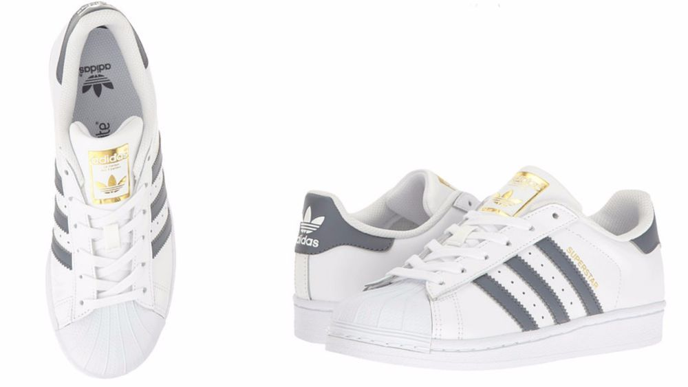 d2349aebc ADIDAS ORIGINALS Kids SUPERSTAR FOUNDATION White  Onix   Metallic Gold  S81016  adidas  S81016