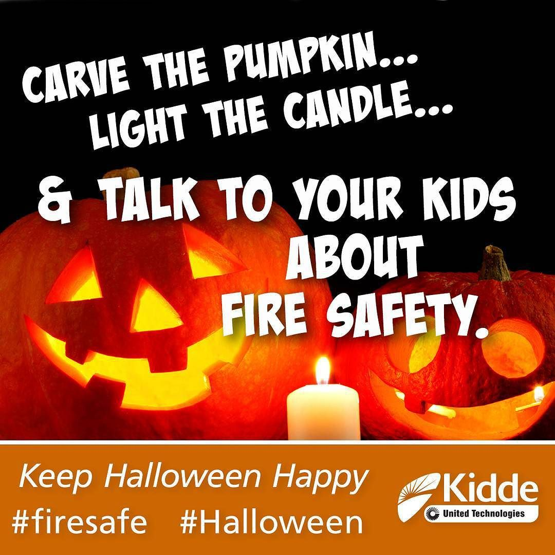 Carve the pumpkin light the light and talk to your kids
