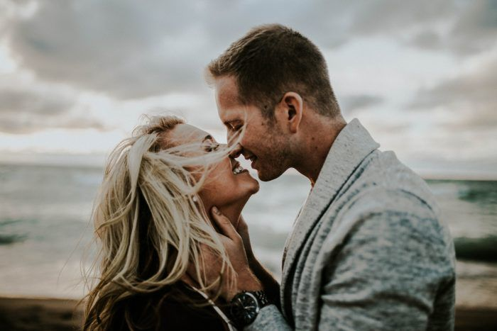 Look How Cute These Engagement Photos + The Love Story That's Behind Them