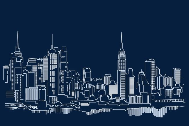 New York City Building Vector Hd Vector White Png Transparent Clipart Image And Psd File For Free Download New York City Buildings City Drawing City Buildings