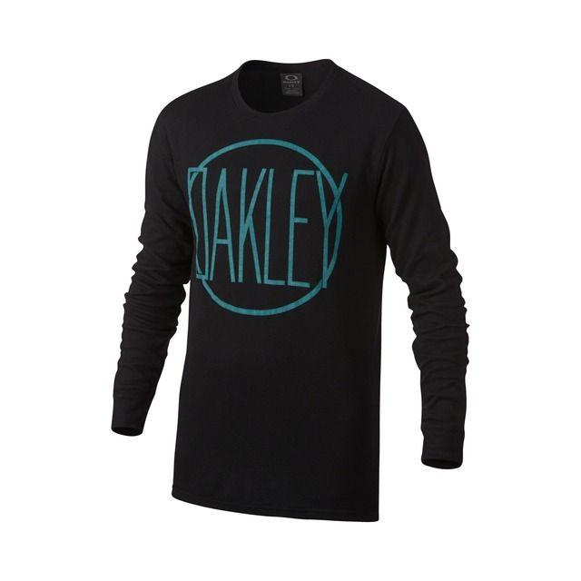 oakley stride ls tee