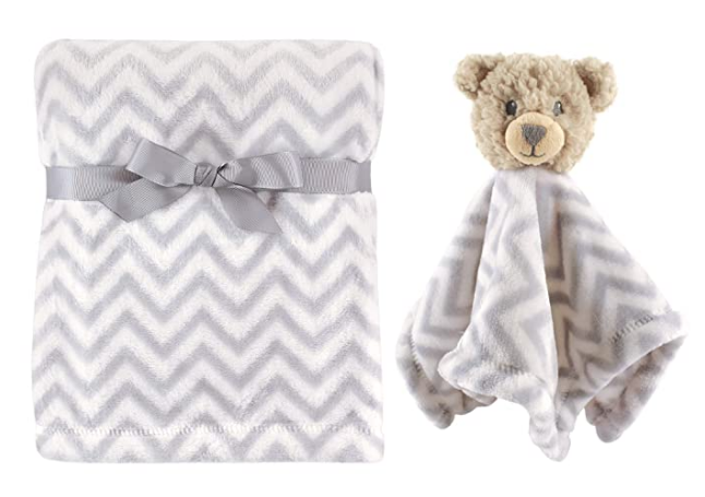 Unisex Baby Plush Blanket With Security Blanket Bear One Size In 2020 Best Baby Blankets Animal Security Blanket Baby Plush