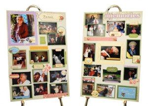 In Loving Memory Paper 12X12-Remembrance Collage 25 per pack