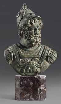 A Roman Bronze Bust Of Mars The God Of War And Also An Agricultural Guardian A Combination Characteristic Of Early Rome 2 He Was Sec Ancient Art Bronze Bust