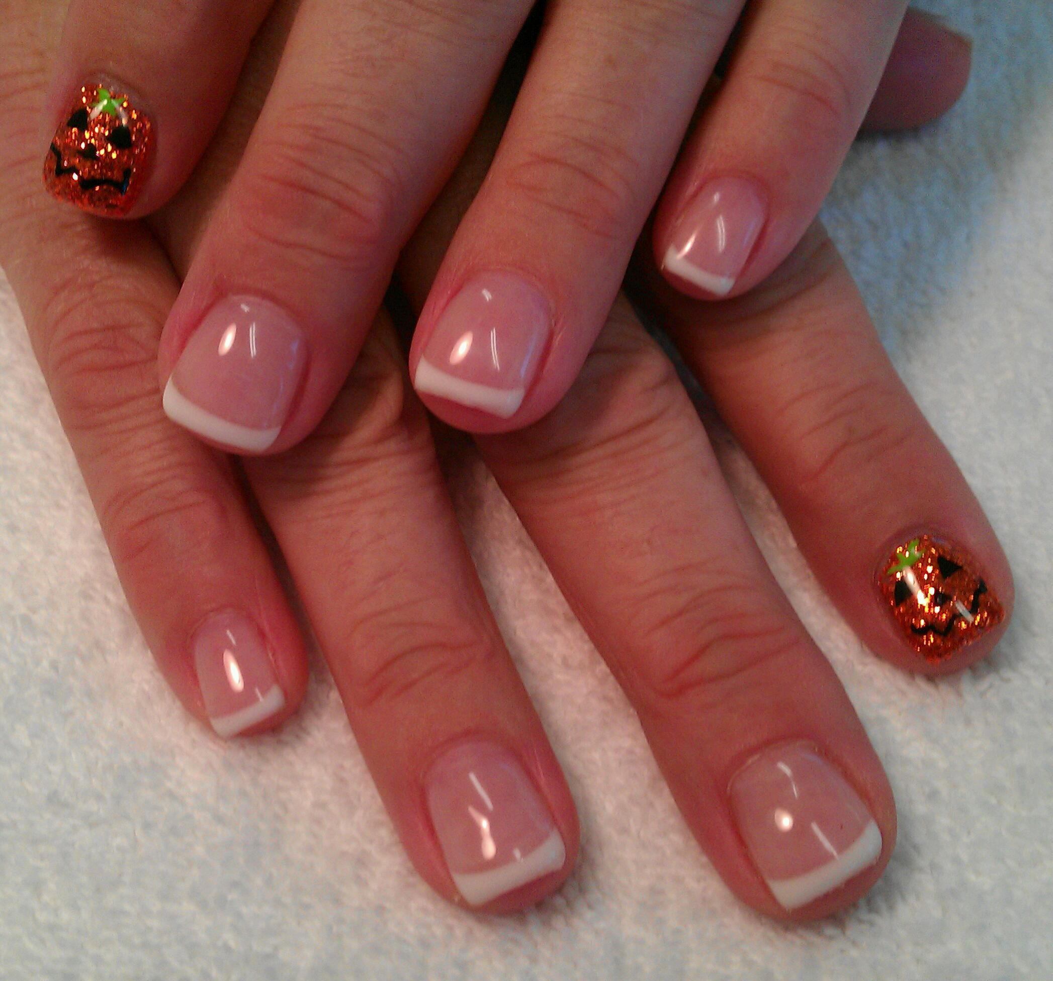 Light Elegance Gel: Halloween punkin's NAILS (With images ...