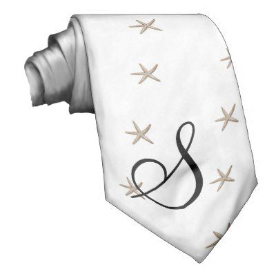 Simple starfish necktie Able to personalise! :)