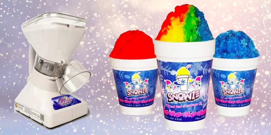 Little Snowie 2 Is A Pretty Dang Amazing Snow Cone Machine Snow Cone Machine Snow Cones Cone