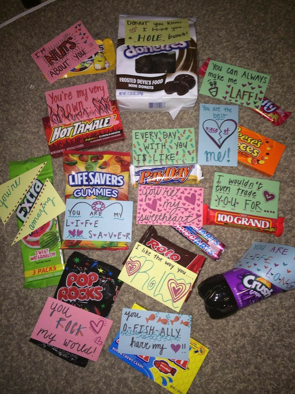 These Are Super Cute With Images Boyfriend Crafts Valentines