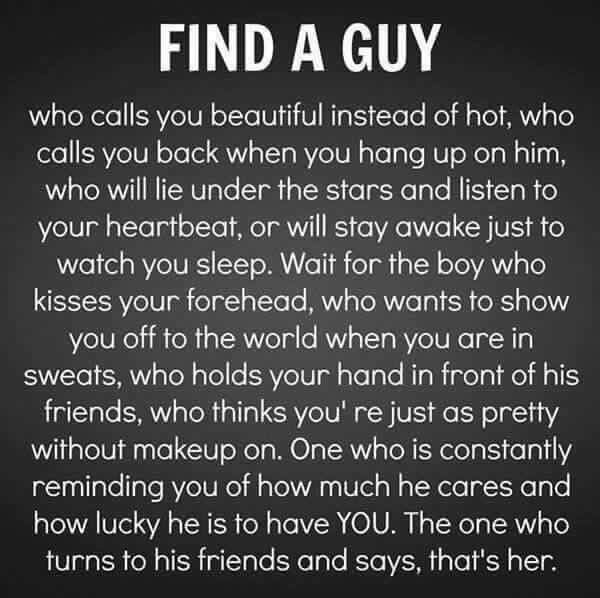 Find the right girl