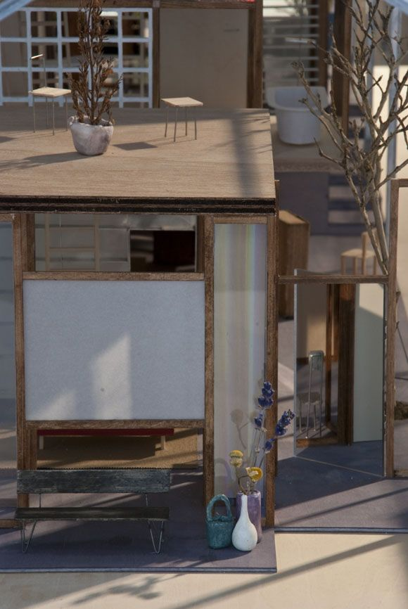 Superb JA+U : House Of 33 Years By Assistant   Highly Detailed Architectural Model    Doll House