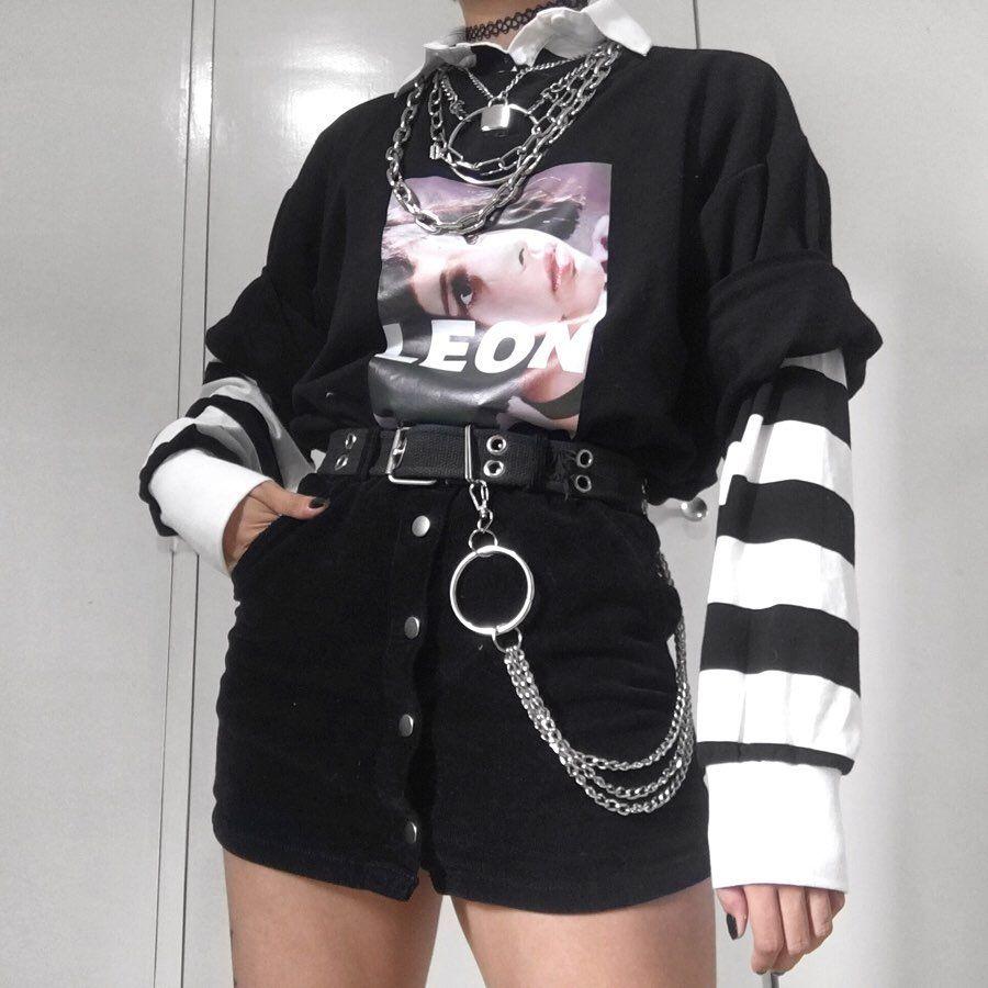 Pinterest Karen Nicole Rey Aesthetic Clothes Egirl Fashion Edgy Outfits