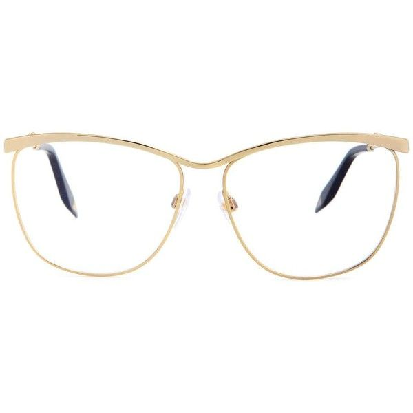 f9ce293d18f2 Victoria Beckham New Optical Cat Glasses (£325) ❤ liked on Polyvore  featuring accessories