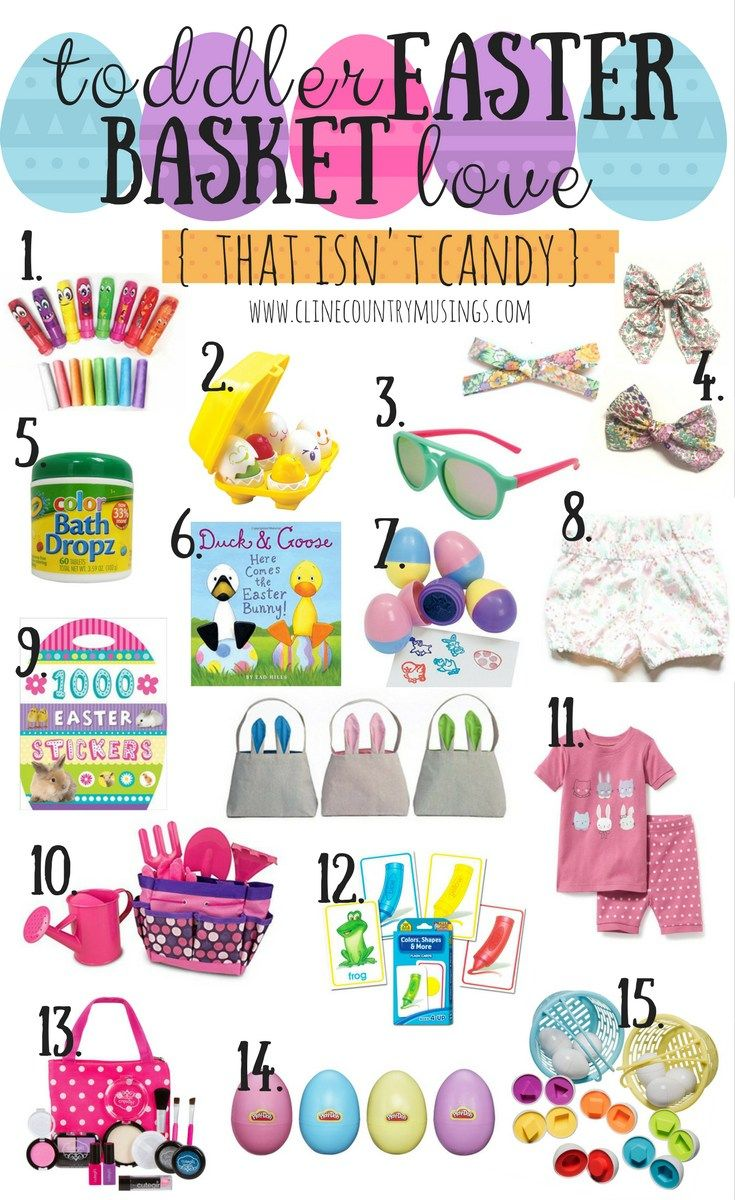 Toddler Easter Bastket Ideas That Aren T Candy Easter Baskets For Toddlers Kids Easter Basket Toddler Easter