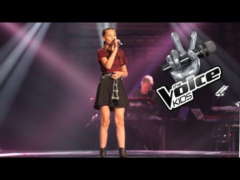 Merle Beneath Your Beautiful The Voice Kids 2017 The Blind Auditions Youtube Sam Smith The Voice Amelie