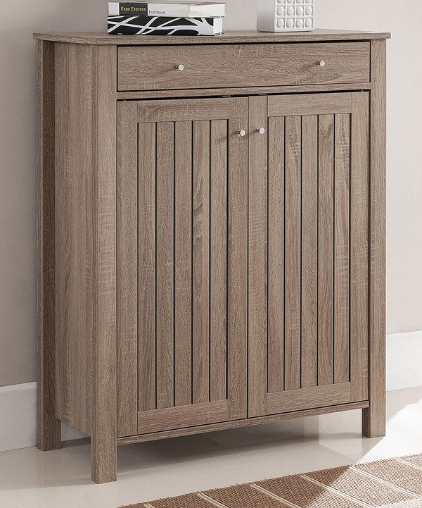 Look at this Light Oak Tanza Storage Cabinet on #zulily today!