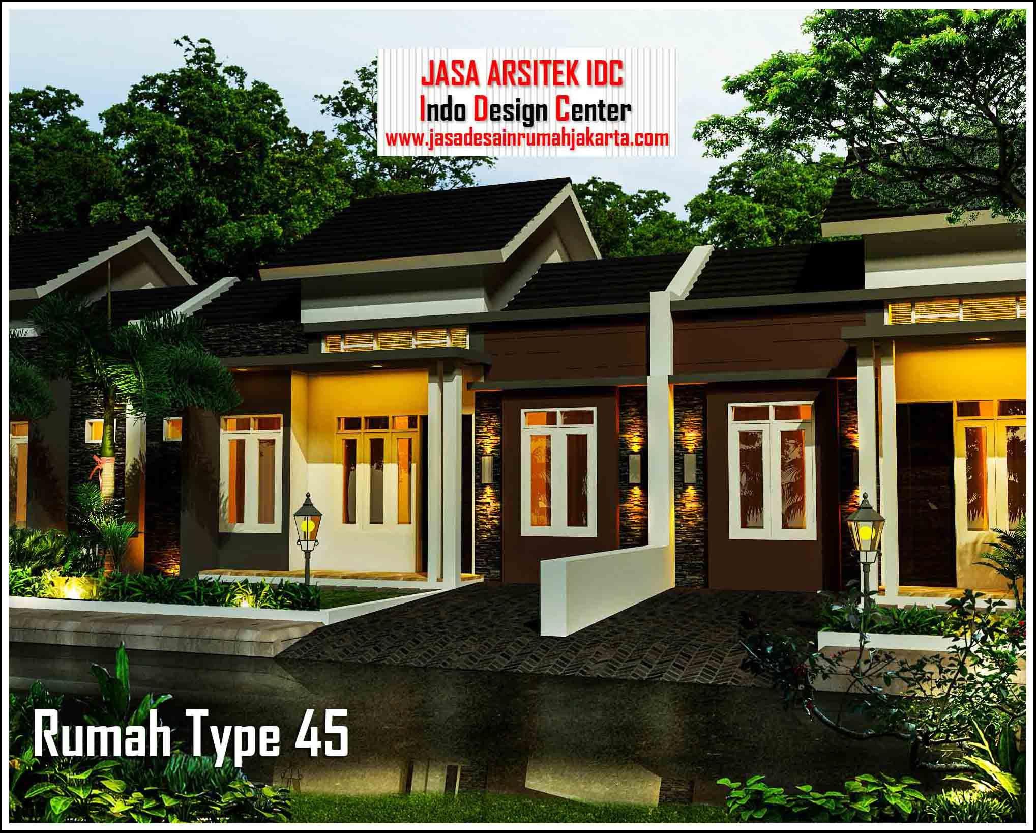 Contoh Rumah Idaman Minimalis Type 45 Home fashion