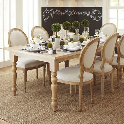 Eliane Flax Dining Chair  Dining Chairs Sunroom And Room Magnificent Dining Room Chairs Pier One Design Decoration