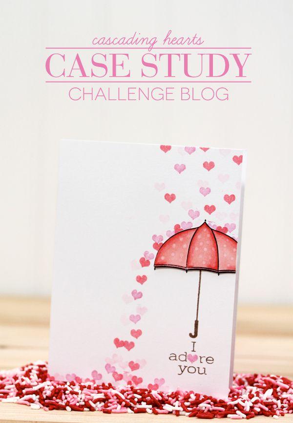 Cascading Hearts Card Damask Love Valentine Card Crafts Valentines Cards Cards