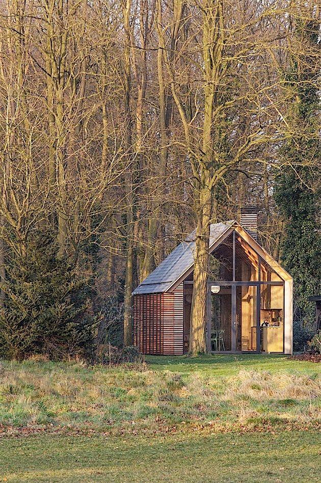 das houten tuinhuis ist ein kleines ferienhaus in der n he von utrecht in den niederlanden es. Black Bedroom Furniture Sets. Home Design Ideas