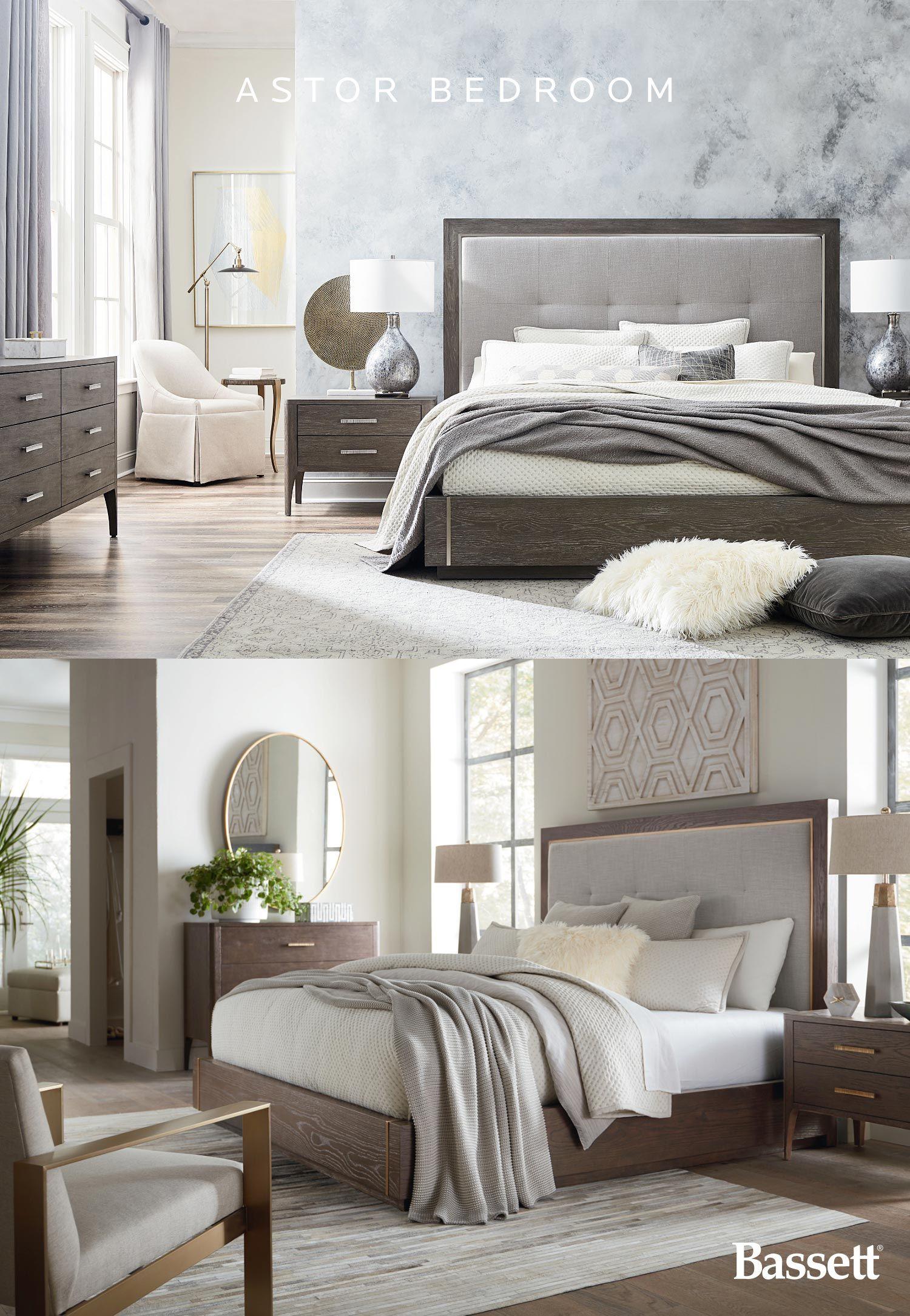Modern Astor Bed Furniture Farm House Living Room Bedroom Design