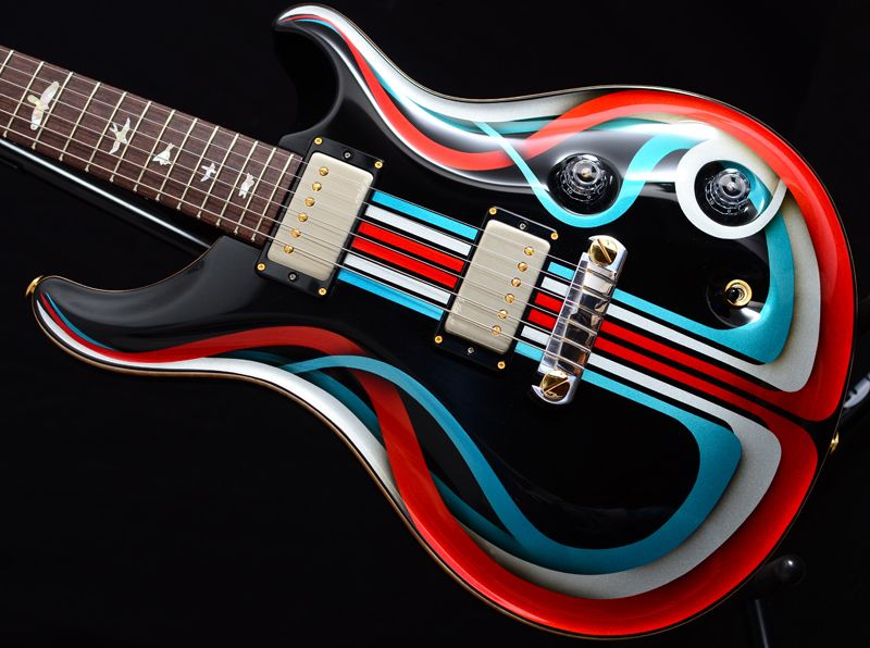 Image Result For Custom Paint Guitar