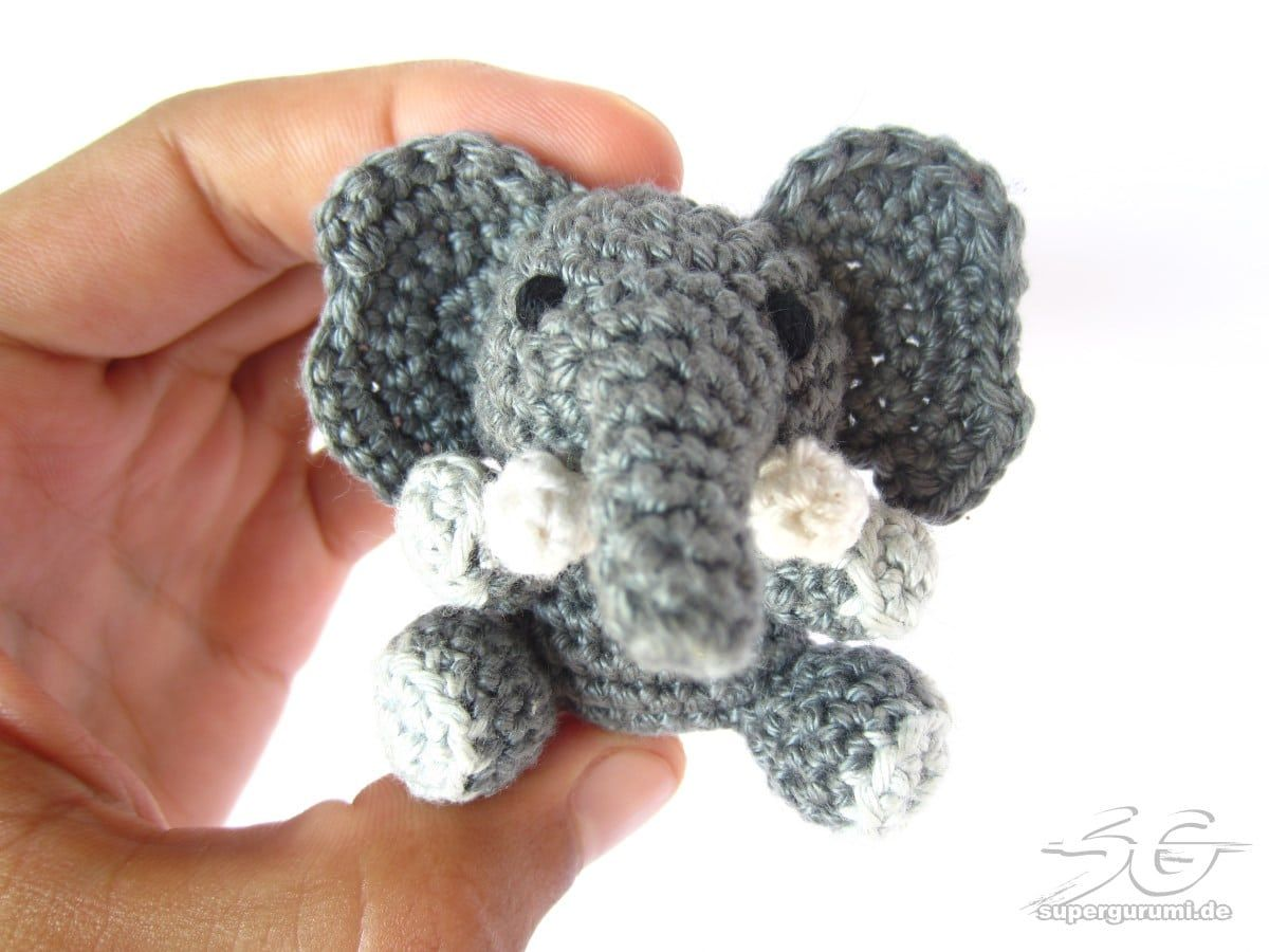 Amigurumi Elefant selber häkeln   crochet animals   Pinterest ...