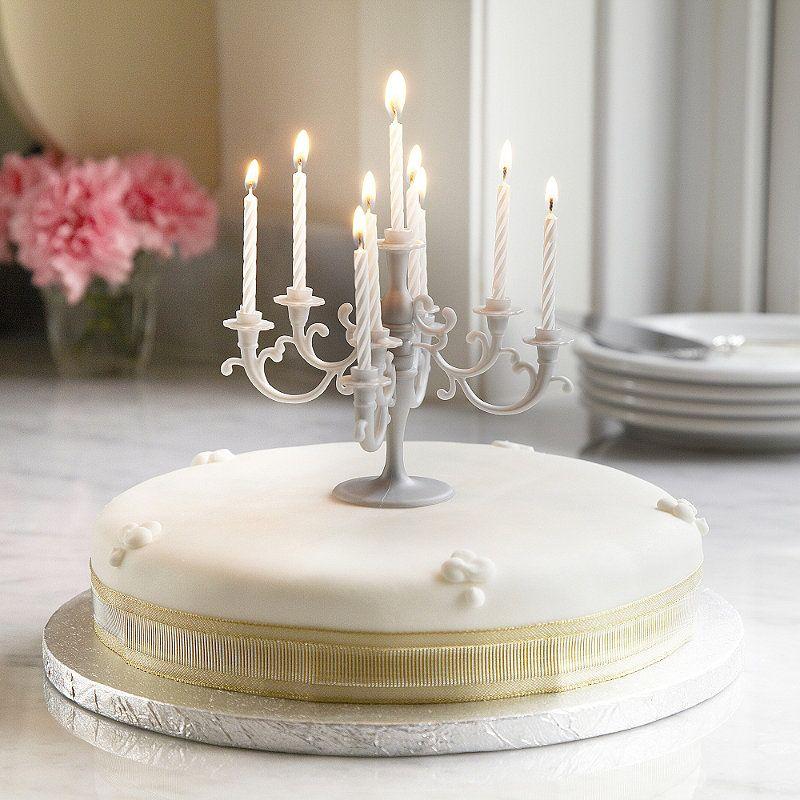 Candelabra Candle Cake Topper