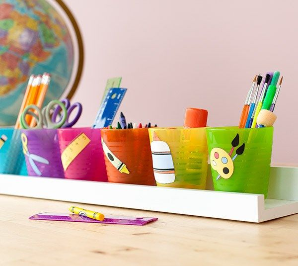 School Tool Caddy #cricut #craft