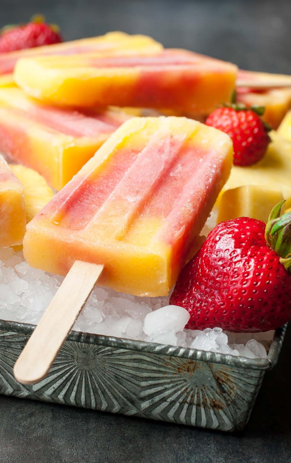 Fruit slush by Frozen Yogurt Australia Fruit slush
