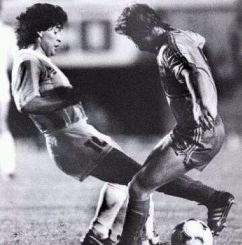 Maradona (Argentina) and Aguinaga (Ecuador) | Seleccion argentina de  futbol, Diego maradona, Fútbol