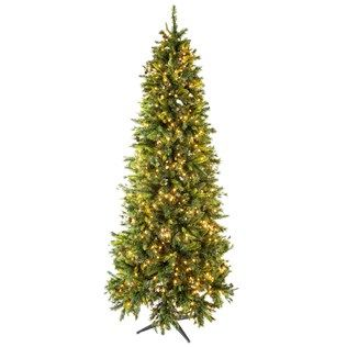This Gorgeous 9 Slim Yuletide Pine Tree With Lights Is