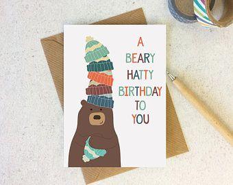 Birthday Card Food Puns ~ Sherbert day birthday pun card food pun card birthday card for