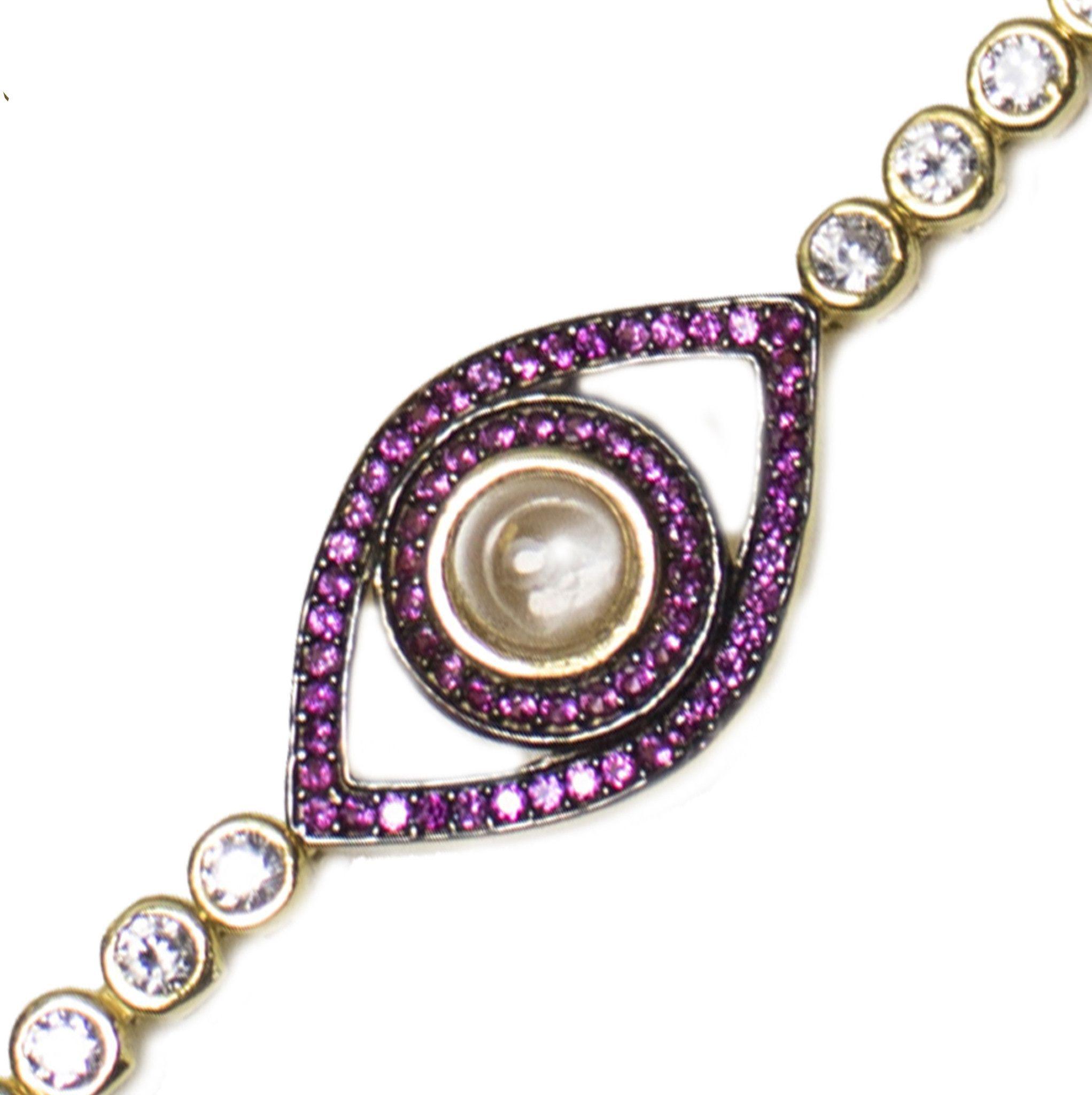 Aliza II XS Evil Eye Bracelet