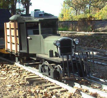 Electric Locomotive Live Steam Backyard Railroad Ride Your ...