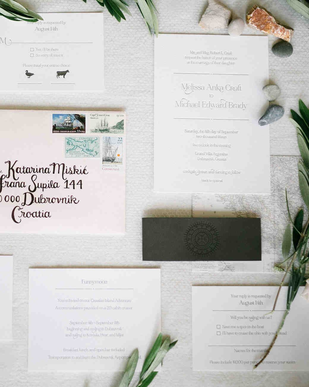 A Modern Seaside Croatian Wedding | Martha stewart weddings ...