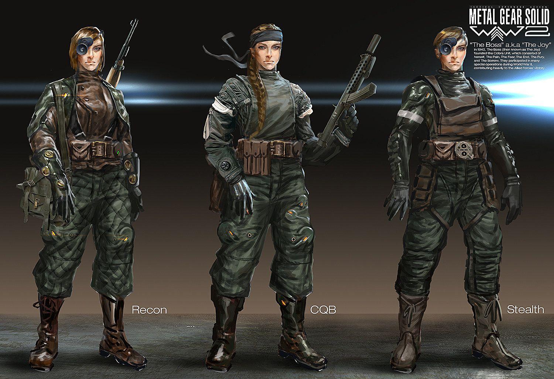 ArtStation Metal Gear Solid WWII Cobra Unit The Joy